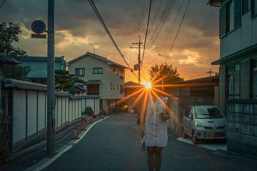 Sunset Streetphotography Kyoto Kyoto,japan F22 Sony A7ii The Week On EyeEm