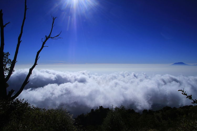 Scenic view of clouds against sky