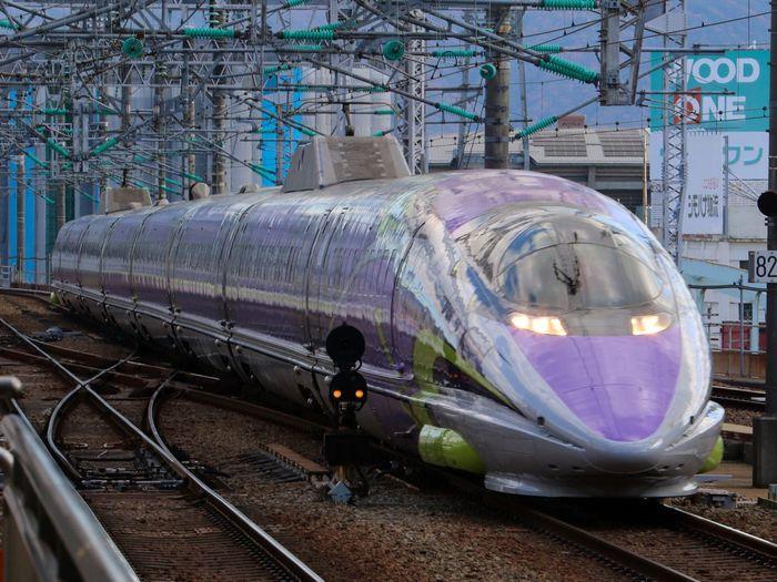 やっと撮れた…。。 新幹線 500系