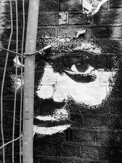 Spui Black And White Captive Streetart Face Barrier What I Value What We Revolt Against Welcome To Black Resist Black And White Friday