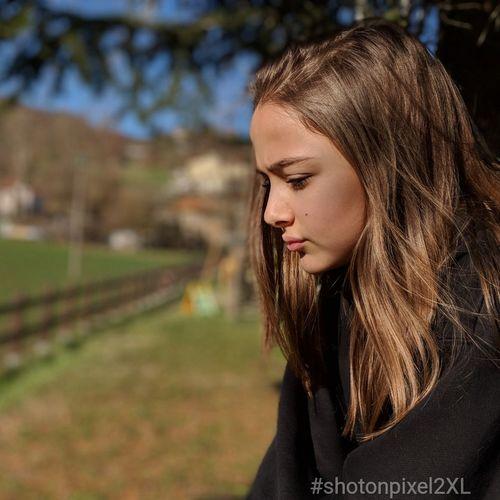 azzurra Shotonpixel2xl Long Hair One Person Outdoors Young Adult Headshot Portrait People