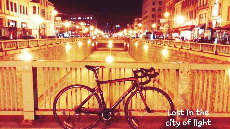 Cycling Night Cycling Night Lights Urban Art EyeEm Best Shots EyeEmBestPics City Of Lights Travel Photography Bikes Cyclingphoto