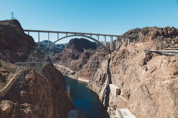 Mike ocallaghanpat tillman memorial bridge over colorado river at hoover dam