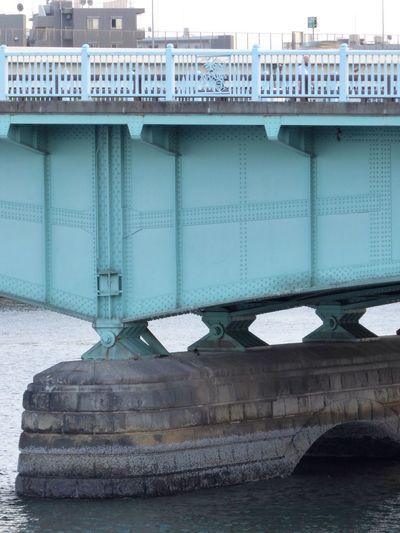 Japan Tokyo Sumida Sumidariver Streetphotography Bridge Bridge Girder River