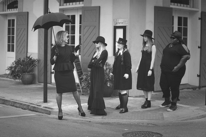 On wednesdays we wear black American Horror Story The Witch Dark