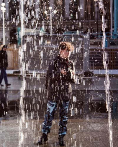 ? London Capital Urban VSCO Lightroom Adobe Fountain Distortion Motion Outdoors Water