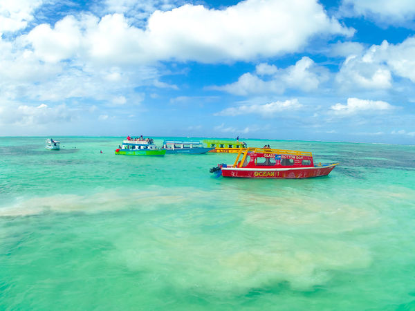 Trinidad And Tobago Beauty In Nature Cloud - Sky Day Horizon Over Water Nature Nautical Vessel No People Nylon Pool Outdoors Scenics Sea Sky Tranquil Scene Tranquility Transportation Vacations Water Waterfront