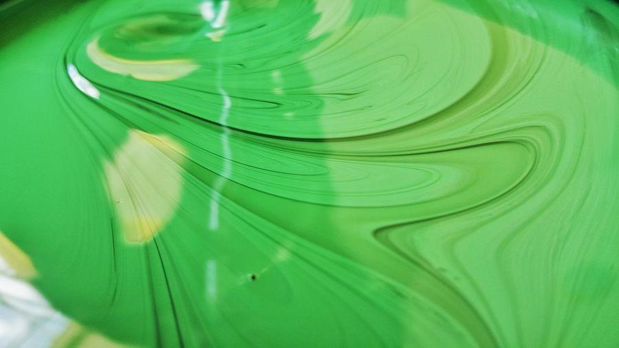 Green Color Backgrounds Full Frame Close-up Textured  No People Reflection Painting DULUX Color Paint Brush Colorful Design Colour Pallette Paint Architecture Decoration Splash Of Color Multi Colored Construction Site Painter Construction Green Color Interior
