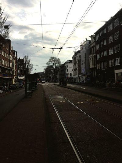 Waiting on Tram