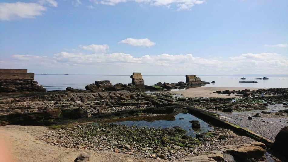 Beach walk 2 Sony XZ Architecture Low Tide Sand Wave Ocean Pebble Beach Sandy Beach Coast