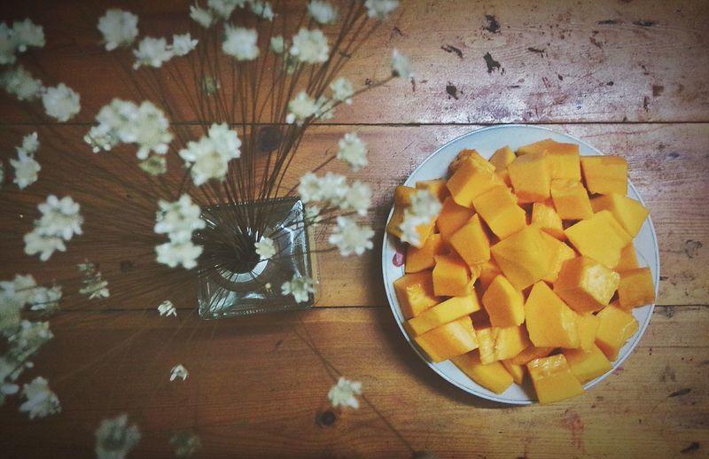 Papaya Myfreshfood Freshfruit My Mom's Garden My Mom♥ Mommy & Daughter  My Favorite Photo My Favorite Fruit Love♥