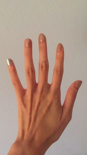 My hand and new color of nails Human Body Part Human Finger Human Hand Hand People Nail Nails Nail Polish Nail Art Nail Color  Caucasian Caucasian Hands