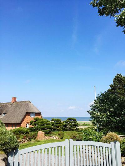 Clear Sky Horizon Over Water My Sky Sylt_collection Sylt, Germany Sylt Blue Sky Northsea