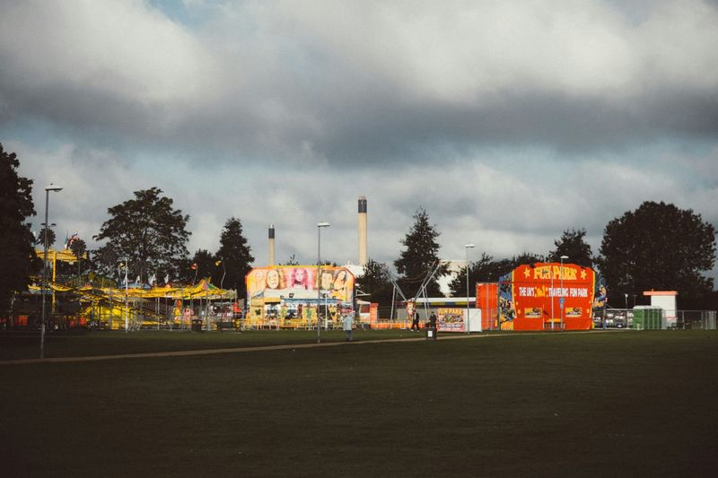 Carnival time, Slough Check This Out Fairground At The Park Park