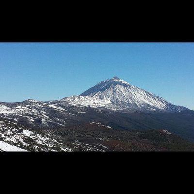 Elteide Nevado Nieve ❄😍⛄