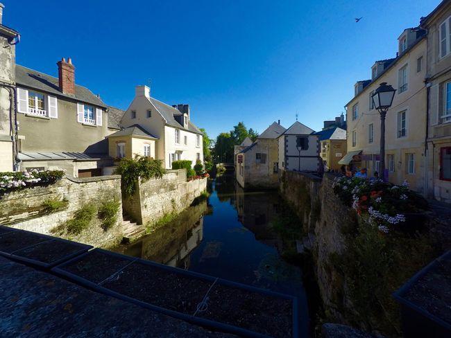 Normandie France Village Bayeux Summer Sun