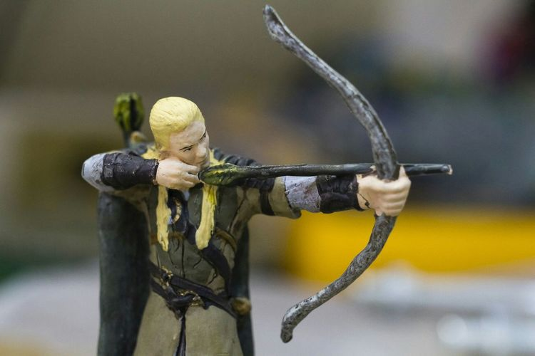 Legolas Macro Action Figures Lord Of The Rings Taking Photos From My Point Of View Macro Photography Legolas Metal Sculpture Eye4photography