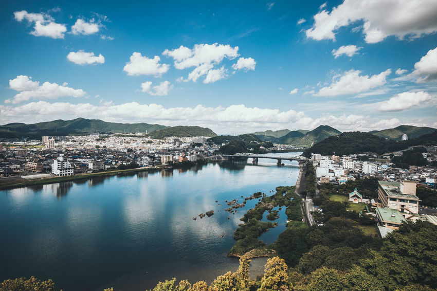 From the Tenshu of Inuyama, Japan Cloud Inuyama Travel Trip Beauty In Nature Cityscape High Angle View Landscape River Sky Tour Town Water 日本 犬山
