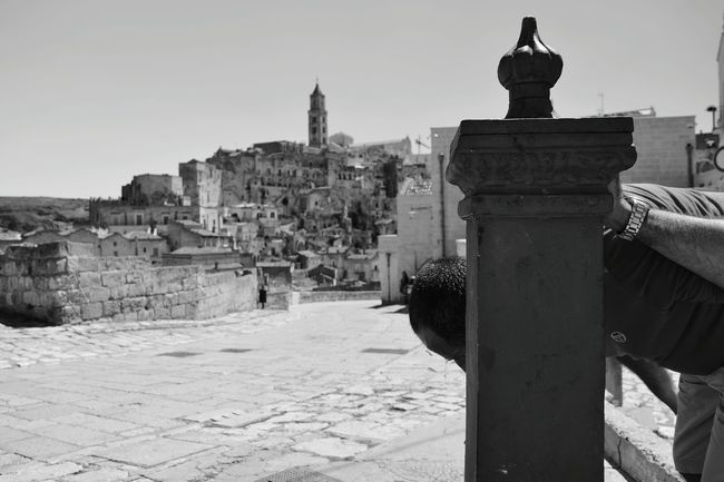 History Travel Destinations Architecture Ancient Built Structure Old Ruin Travel Outdoors Statue No People Sculpture Day King - Royal Person Building Exterior Ancient Civilization City Sky Matera Italy Love Cool Adults Only Standing Basilicata