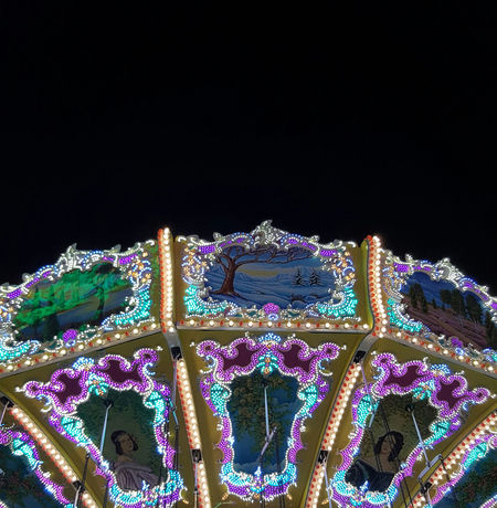 """Carousel"" Carousel Chaincarousel Chain Fair Funfair Amusement Park Amusement  Amusement Park Ride Fun Life Happy Green Pink Colorful Photo Beautyful  Summer Summertime Night Instamood Belanglose Bilder Unaffected Images"
