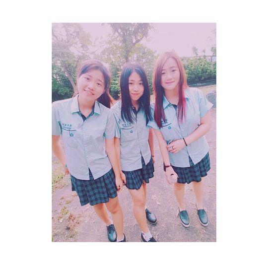From Taiwan🇹🇼 Sunny☀ School ✌ Happy :) My Friends <3 Taking Photos Enjoying Life