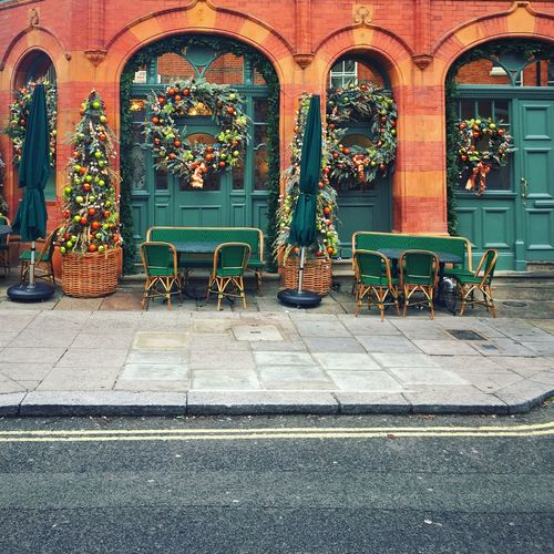 London London_is London_only Christmas Decorations Christmastime Christmas Spirit Reef Retaurant Decorations Stjohnswood