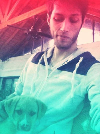 Only Men One Person Front View Puppy❤ EyeEmNewHere