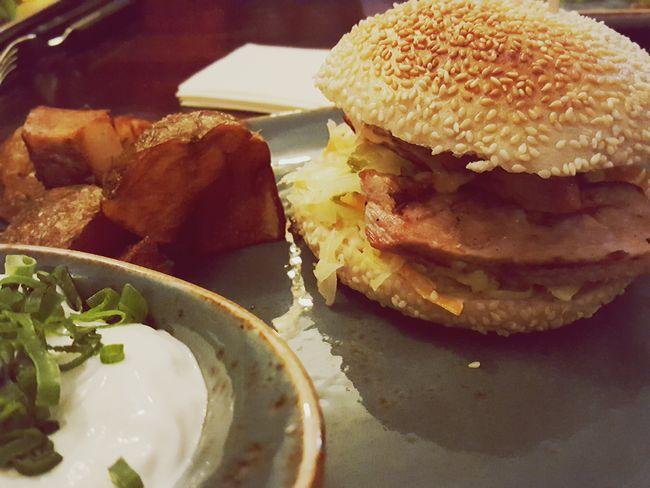Schweinesteak - Burger! 🍔