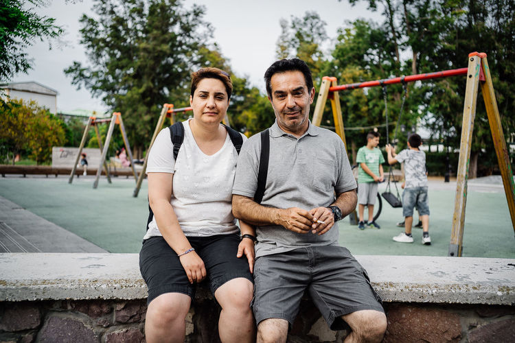 """When the Iraq-Iran war broke out, Reza was only 16 years old. He had to flee to Denmark for his own safety and lived there for many several years. He even picked up English quickly during his time there. Fast forward to 2016, he had to undertake exactly the same treacherous journey again to reach Europe. Being an Orthodox Christian in Iran, where religious fundamentalism is on the rise, puts his life and his family in great danger. But his experience from when he was 16 years old served him well as this time round, he managed to bring his wife, Niki, and his only son to Europe safely. He shared with me how at one point before boarding the ferry to Athens (to continue his journey inwards into Europe), he already had all his documents ready. But just as his family and him was about to board, he looked around him and saw many other refugees who couldn't speak a single word of English. They were struggling to communicate with the local authorities to let them board. So he stopped right there at the gate and turned around to his family. He asked them, """"What should we do? We can't leave them here."""" To which, Niki replied, """"Whatever you want to do, we will stick by your side no matter what."""" So that was how he gave up his one and only opportunity to get to his destination. 3 months on, he finally found a job as a translator with a local Greek organisation that helps to house vulnerable cases of refugees such as unaccompanied minors, women and the elderly. And in the end, I asked if he has any messages that he wants to send to the Greek people for their great and warm hospitality. He said, """"No. I do not have a message for the Greeks but I have a message for the rest of Europe instead: Learn from the Greeks on how to be a human."""" Crisis Documentary EyeEm Best Shots EyeEm Masterclass Fresh On Eyeem  Greece HUMANITY Iran Photohunt Portrait Refugees Reportage The Photojournalist - 2016 EyeEm Awards This Week On Eyeem"""