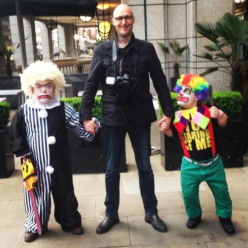 BEST. JOB. EVER. Photographer Clowns Dwarves