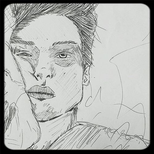 Early wake up 4am Bored Speedsketch