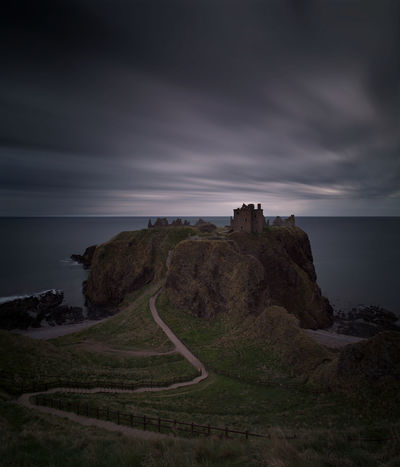 Dunnottar Castle - proof that a sufficiently long exposure can cure any scene of the humans running around. Aberdeenshire Building Castle Cloud - Sky Clouds And Sky Coastline Dunnottar Dunnottar Castle Gloomy Horizon Over Water Landscape Landscape_Collection Landscape_photography Long Exposure PENTAX K-1 Ruin Scotland Sea Sky Water The Great Outdoors - 2017 EyeEm Awards