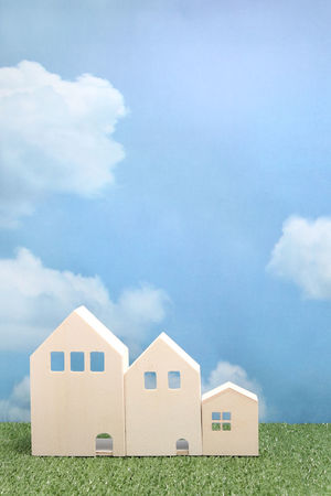 Apartment Architecture Building Built Structure Cloud - Sky Cloudy Condominium Construction Copy Space Day Home House Houses Housing Landscape Live Miniature Model No People Property Real Estate Residence Residential Building Sky Toy