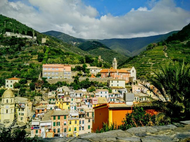 Cinque Terre Costal Italy