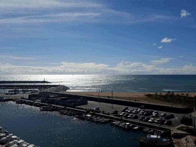 SPAIN Arenys De Mar Boats Sea Sea And Sky Seaside