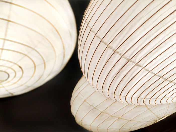 Chinese paper lanterns in Los Angeles Black Chinese Close-up Design Lantern Light Paper Lanterns White