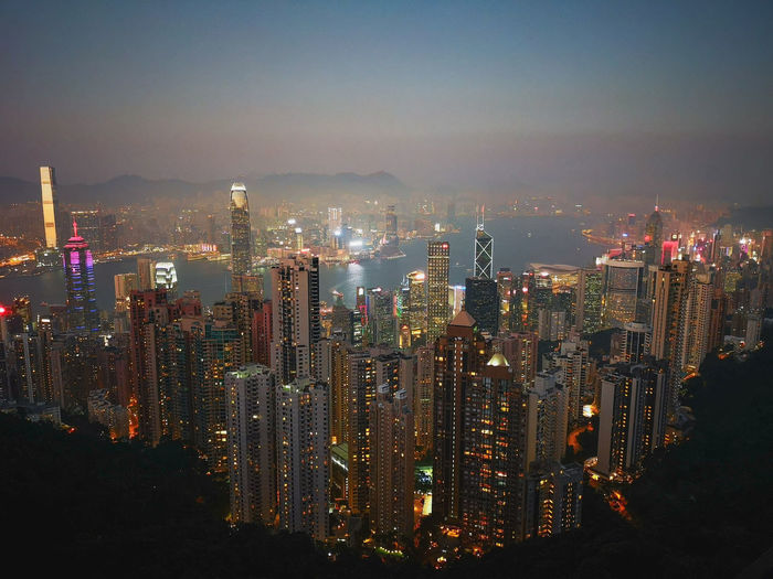 Hong Kong Architecture Hong Kong Victoria Peak Victoria Peak, Hongkong City Cityscape Urban Skyline Illuminated Modern Skyscraper Business Finance And Industry Downtown District Tower Sky Tall - High Building Story Urban Sprawl High Rise My Best Photo The Architect - 2019 EyeEm Awards The Mobile Photographer - 2019 EyeEm Awards