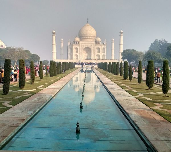 New Taj Mahal Taking Photos Picoftheday Christmas Seven Wonders Of The World Love Fresh Pic Of The Day Eyemy New Water Fountain Reflecting Pool Travel Destinations Reflection Memorial Drinking Fountain Politics And Government Sky Day Outdoors Business Stories Shades Of Winter EyeEmNewHere An Eye For Travel Love Yourself The Graphic City