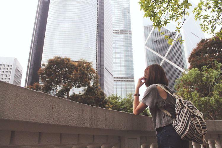 Vacation Enjoying The View Going For A Walk Hong Kong