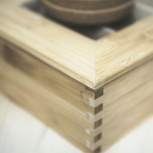Tea box with