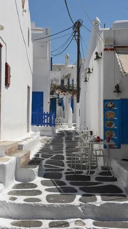 Aegean Aegean Islands Aegean Sea Blauer Himmel Blue Sky Greece GREECE ♥♥ Hellas Kykladen Kyklades Mykonos Mykonos,Greece Places Platz Straße Street ägaisches Meer ägäis ägäische Inseln