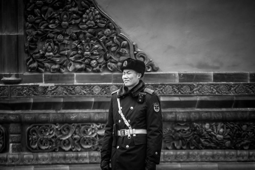 militaire Chinois China Militaire One Person Outdoors Pekin Portrait Real People