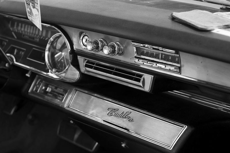 Oldtimer Indoors  Technology Control Panel Close-up Transportation No People Car Retro Styled Radio Music Car Interior