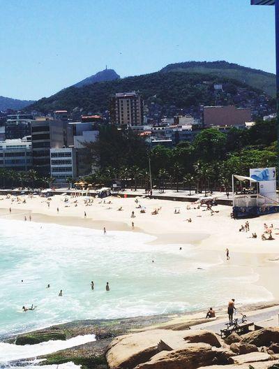 Beach Sunday Rio De Janeiro First Eyeem Photo