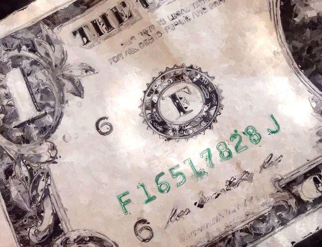Alphabetography On Paper : NEM Avantgarde NEM Painterly First dollar made in a new venture