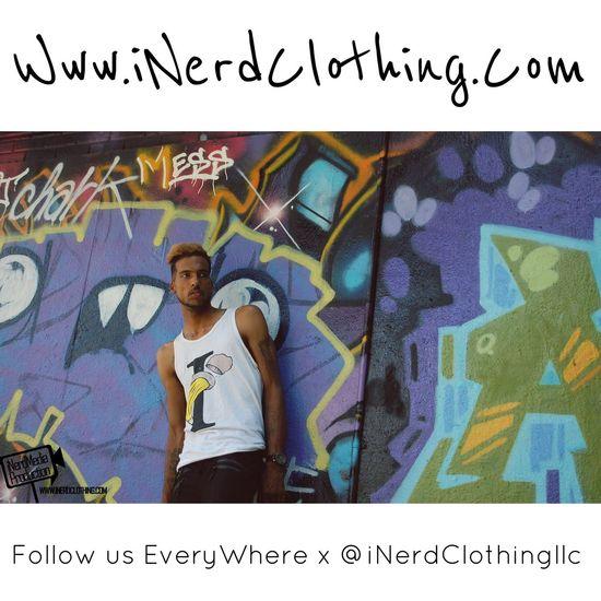 Www.iNerdClothing.Com | Brief But Never Simple Clothing Line Tshirt Designer Model Street Fashion