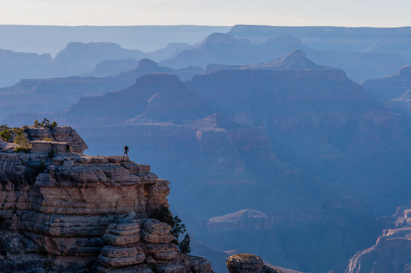 Beautiful view of the Grand Canyon from the south rim Extreme EyeEmNewHere Copy Space Grand Canyon Architecture Beauty In Nature Built Structure Cliff Daredevil Environment Formation Idyllic Mountain Mountain Range Nature Outdoors Rock Rock Formation Scenics - Nature Sky Solid Thrill Seeker Tranquil Scene Tranquility Travel Travel Destinations Wallpaper Rock Formation