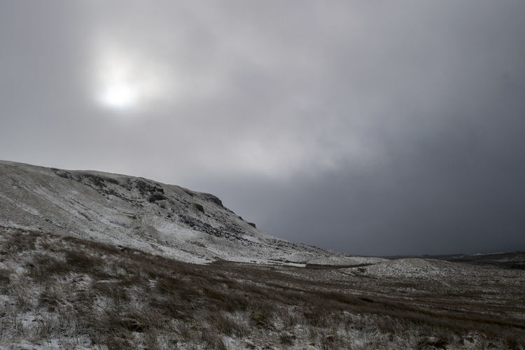 Cloud Winter Beauty In Nature Landscape Mountain Nature No People Outdoors Pen Y Ghent Scenics Sky Snow Yorkshire Dales