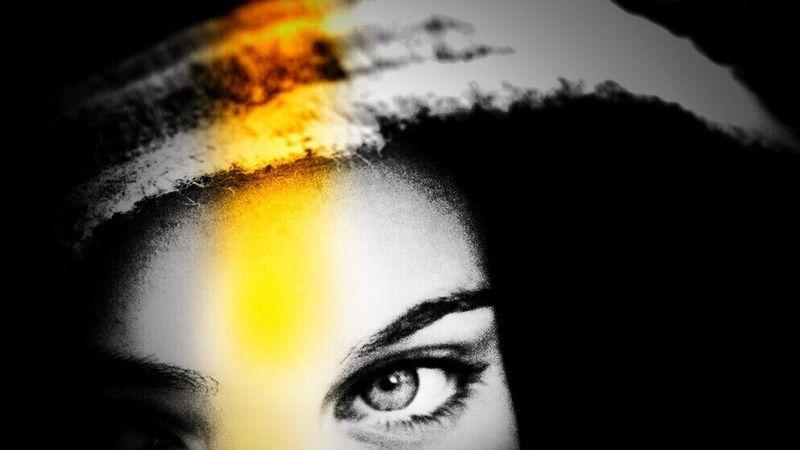 Eyes Human Eye Portrait Dimpanphotographs OZORA FESTIVAL Yellow Black&color