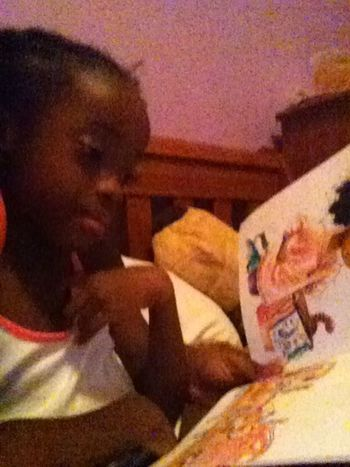 Reading to my baby!!!!!!!!!!!!